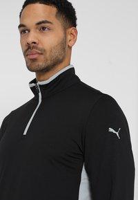 Puma Golf - ROTATION - Funkční triko - black heather - 5