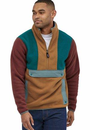 SYNCH - Fleece jumper - dunkelbraun