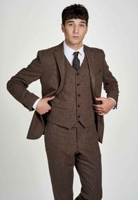 MDB IMPECCABLE - Suit waistcoat - sand - 2