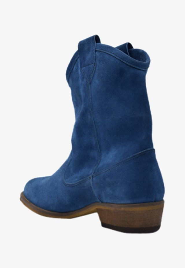 Ankle boot - ocean blue