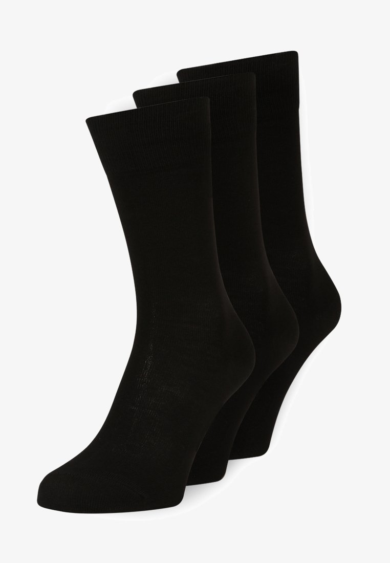 FALKE - FAMILY 3 PACK - Socks - schwarz