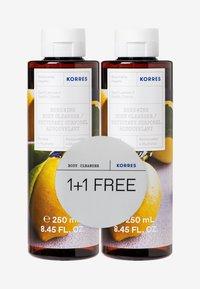 Korres - BASIL LEMON 1+1 SHOWER GEL SET - Bath and body set - - - 0