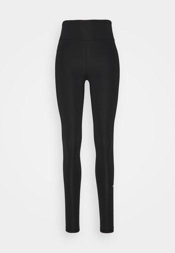 HIGH WAISTED - Leggings - Trousers - black