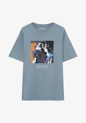JUAN  - T-shirt med print - light grey