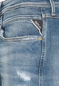 Replay - ANBASS AGED - Straight leg jeans - blue denim - 6