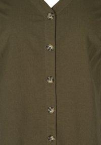 Zizzi - Shirt dress - ivy green - 4