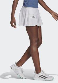 adidas Performance - TENNIS MATCH SKIRT - Sports skirt - white - 2