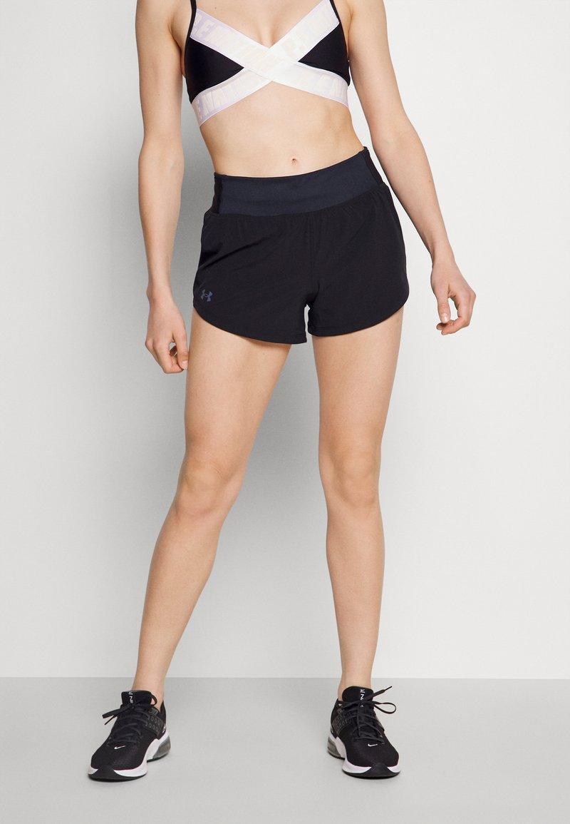 Under Armour - SPEEDPOCKET SHORT - Sports shorts - black