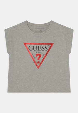 CORE JUNIOR CROPPED  - Camiseta estampada - light heather grey