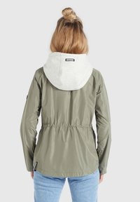 khujo - FAMKE - Light jacket - hellkhaki - 2