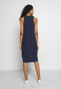 Tommy Jeans - TJW LOGO TANK DRESS - Day dress - twilight navy - 2