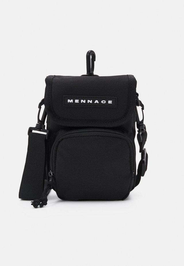 CROSSBODY POUCH BAG UNISEX - Across body bag - black
