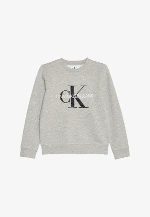MONOGRAM LOGO - Sweatshirt - light grey heather