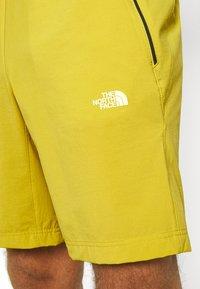 The North Face - GLACIER SHORT - Träningsshorts - citronellegreen - 4