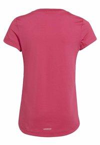 adidas Performance - Camiseta estampada - pink - 1