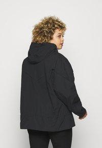 Nike Sportswear - Summer jacket - black/dark smoke grey - 2