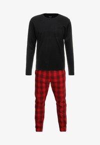 YOURTURN - Pyjama set - black/red - 4