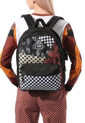 REALM CLASSIC - Rucksack - floral patchwork