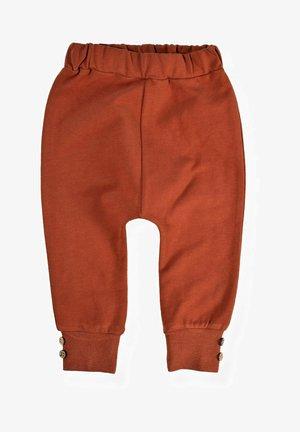 Tracksuit bottoms - dark red