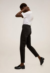 Mango - NEWMOM - Jeansy Slim Fit - black denim - 3