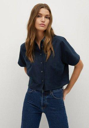 LOUISA H - Button-down blouse - donkermarine