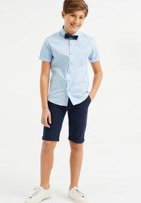 WE Fashion - Shorts - navy blue - 0
