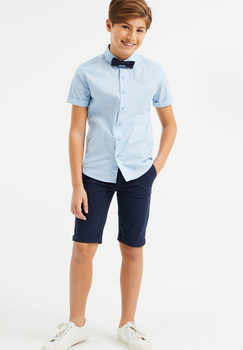 WE Fashion - Shorts - navy blue
