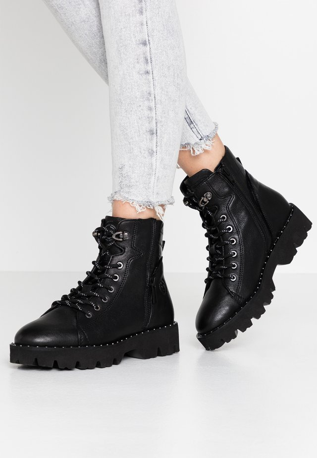 MAGIC - Lace-up ankle boots - schwarz