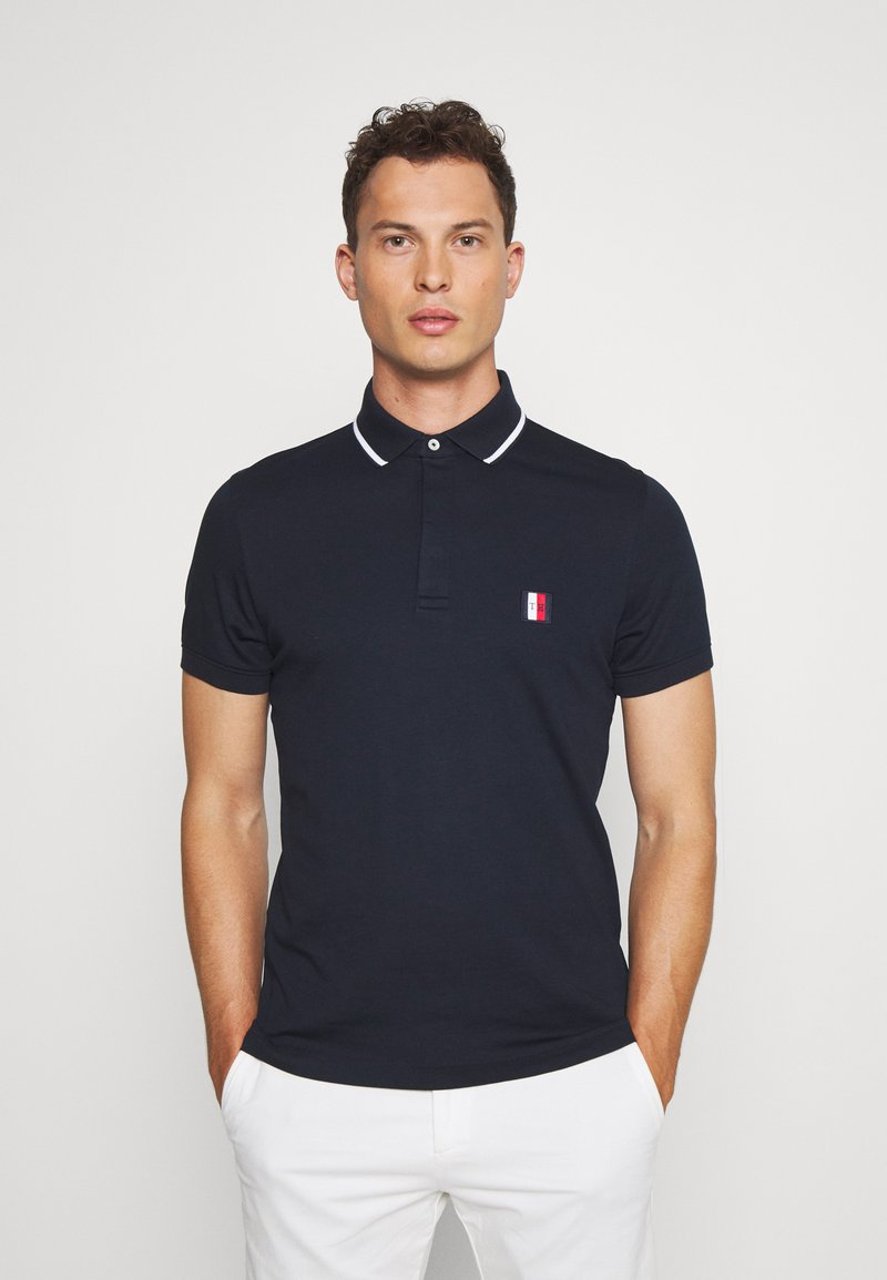Tommy Hilfiger - SOPHISTICATED SLIM  - Polo - blue