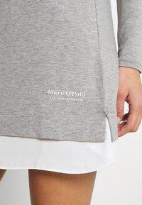Marc O'Polo - SLEEPSHIRT CREW NECK - Pyjama top - grau - 4
