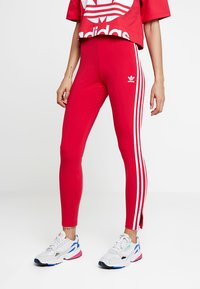 adidas Originals - BELLISTA 3 STRIPES TIGHT - Leggings - Hosen - energy pink - 0