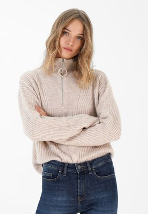 Sweter - stone