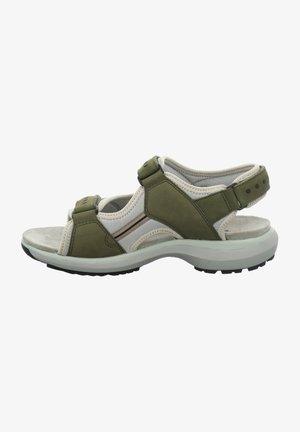 Walking sandals - oliv