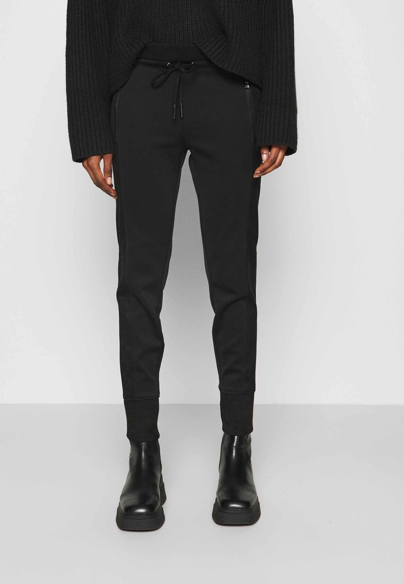 Opus - LEVINA - Trousers - black