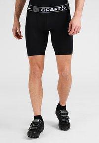 Craft - GREATNESS  - Leggings - black/white - 0
