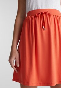 Esprit - SKIRT - Mini skirt - coral - 3