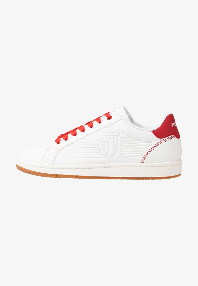 Baskets basses - white/red