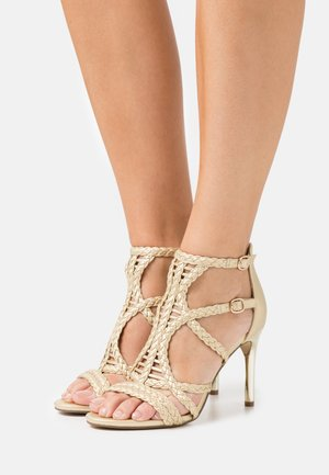 High Heel Sandalette - light gold