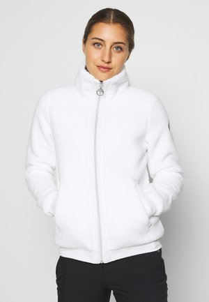 EDINA - Fleece jacket - optic white