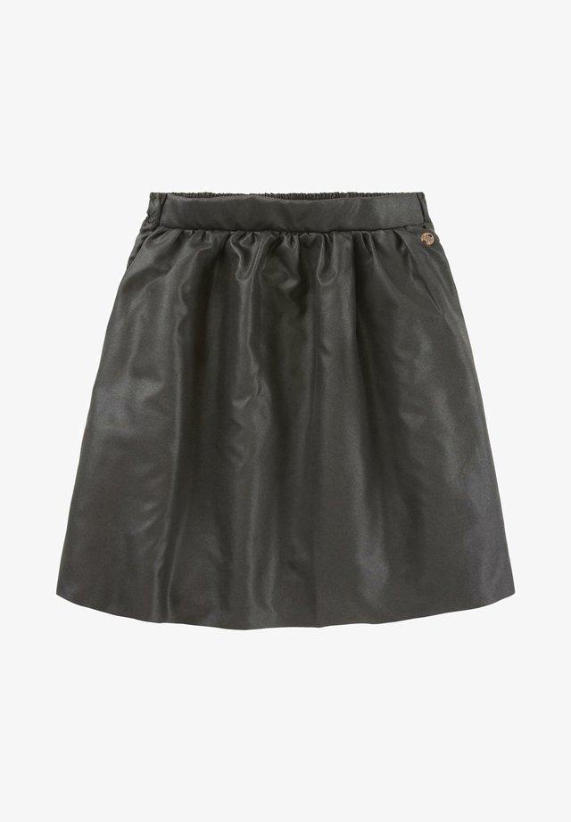 A-line skirt - caviar black
