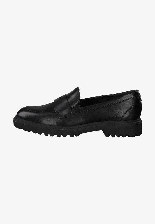 Moccasins - black leather 3