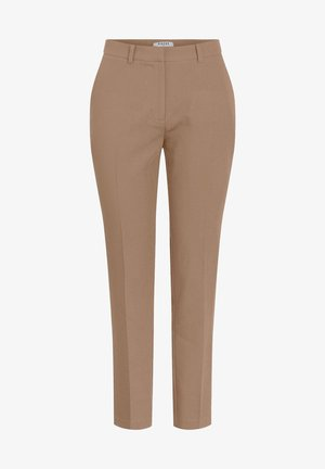 PCBOSS PANT  - Trousers - natural