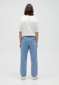 PULL&BEAR - Jeans Straight Leg - mottled blue - 2