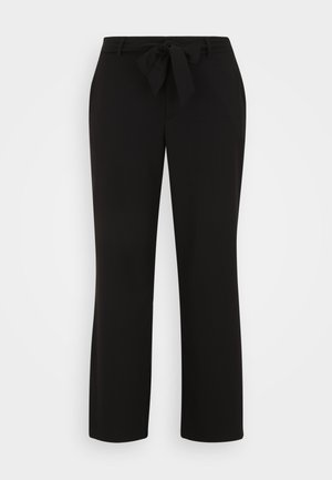 VMLONDYN PAPERBAG PANT CURVE - Trousers - black