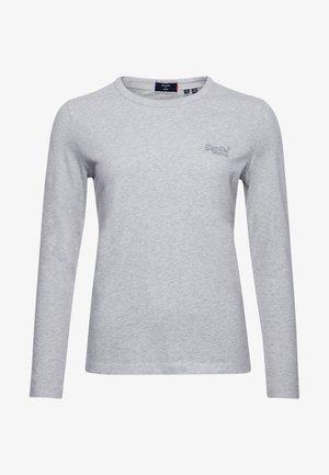 T-shirt à manches longues - light grey marl