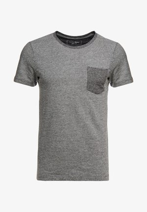IN NEW STRUCTURE - T-shirt - bas - black/grey