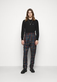 Vivienne Westwood - ALCOHOLIC TROUSERS - Trousers - brown - 1