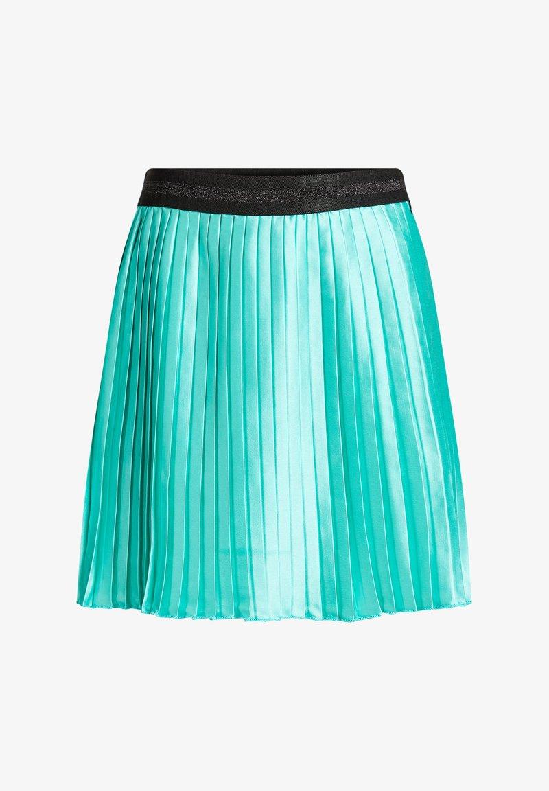 WE Fashion - Pleated skirt - turquoise