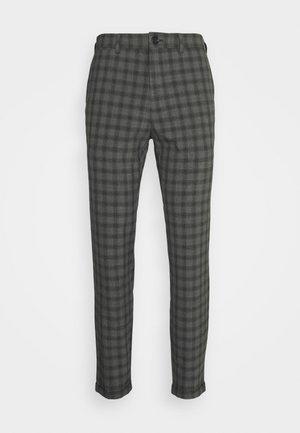 MALIAM PANT - Trousers - medium grey melange