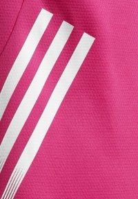 adidas Performance - AEROREADY 3-STREIFEN - Camiseta estampada - pink - 3